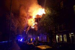 Grote brand in leegstaand pand Amsterdam: omliggende huizen ontruimd