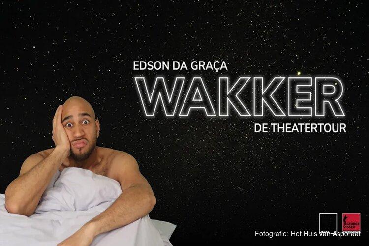 Op 14 november 2019 staat Edson Da Graça in Podium Mozaïek met zijn avondvullende programma 'Wakker'.