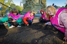 Bollen planten voor Tulp Festival Amsterdam 2020