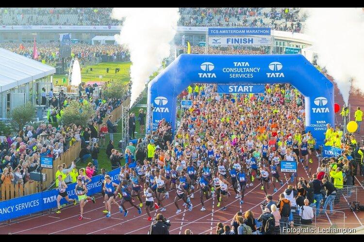 Inschrijving TCS Amsterdam Marathon geopend: snel parcours door een wereldstad