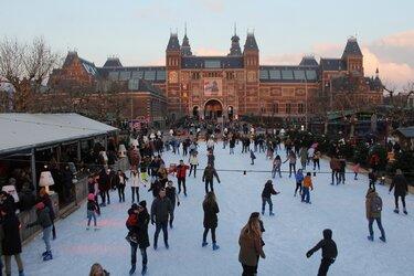 Gratis schaatsen op zaterdag 16 november bij Ice*Amsterdam