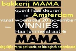 Bakkerij Mama opent haar deuren in Amsterdam