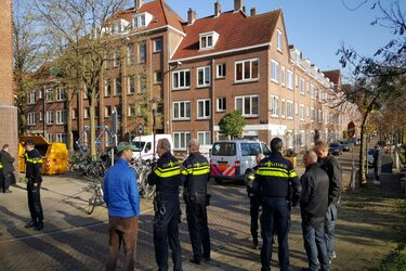 Explosieven gevonden aan de Mesdagstraat