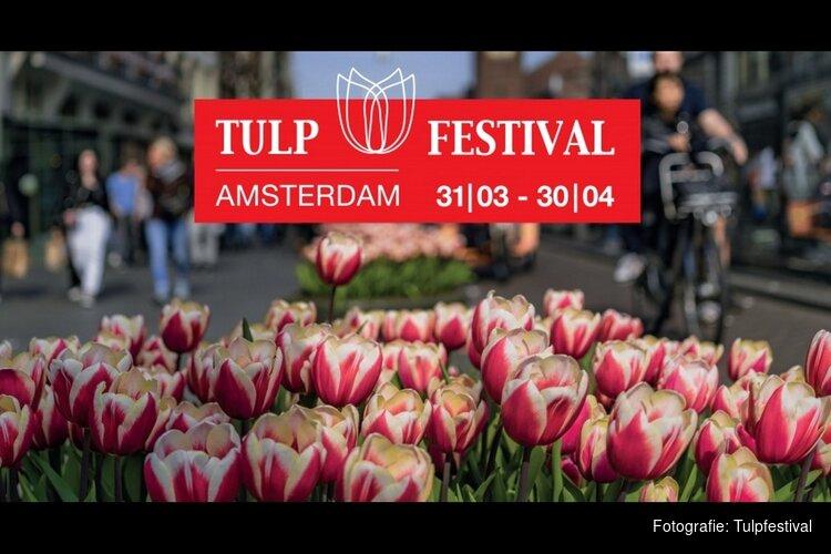 Tulp Festival zet Amsterdam in bloei van 31 maart t/m 30 april 2020