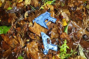 Aangehouden tieners in Amsterdam speelden met speelgoedwapen