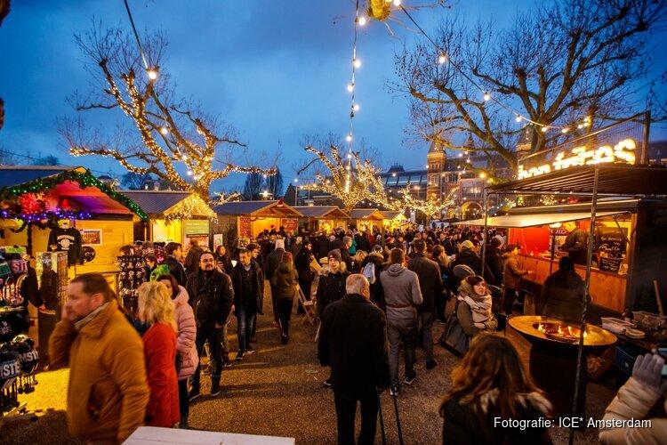 Kerstmarkt museumplein opent groen
