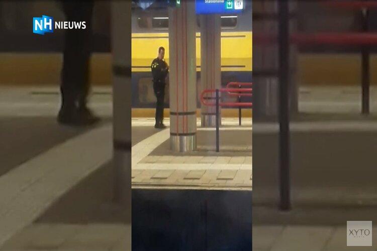 Man aangehouden voor dreigen met explosief bij station Amsterdam Sloterdijk