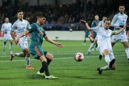 Telstar geeft Ajax goed partij
