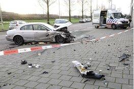 Ongeval met drie auto's Rhoneweg