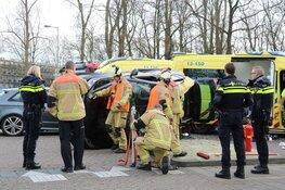 Gewonde na ongeval Zuiderzeeweg