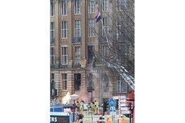 Grote brand voor hotel in hartje Amsterdam