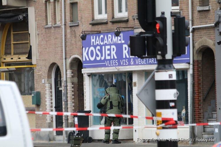 Geen explosief aangetroffen bij Joods restaurant Amsterdam