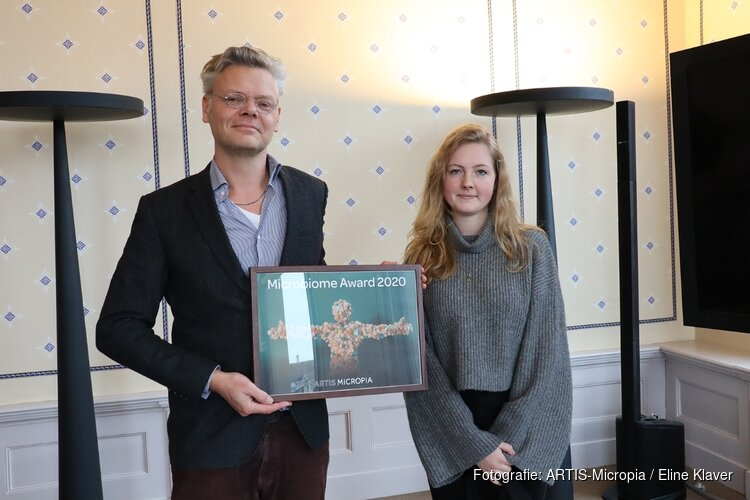 Innovatieve pleister Q-patch wint Microbiome Award