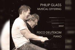 Amsterdamse pianist Feico Deutekom debuteert op componisten label van Philip Glass