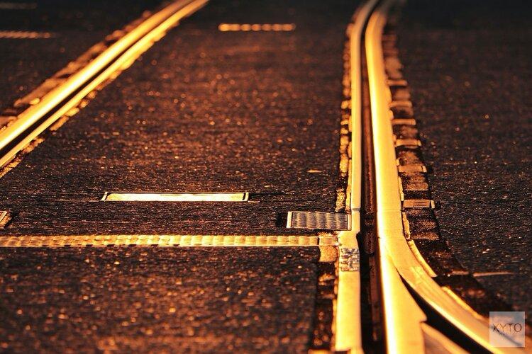 Spoorloper tussen Amsterdam en Haarlem: treinen rijden stapvoets