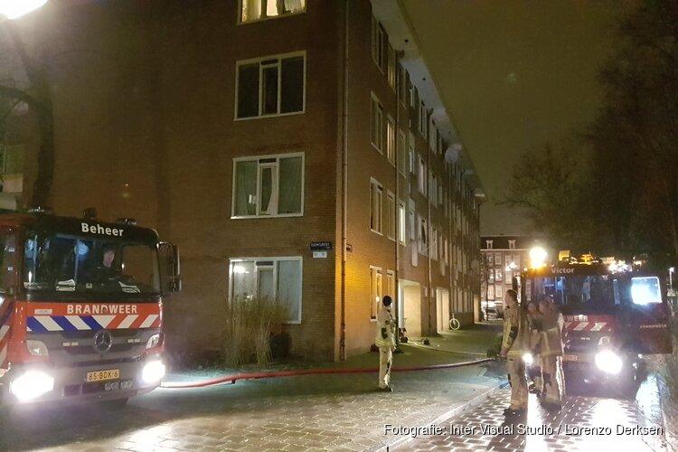 Zeven gewonden bij uitslaande brand in Amsterdam-Oost