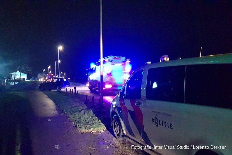Grote brand in schuur Amsterdam-Noord