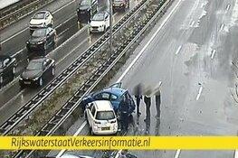 A10 Noord richting Zaandam afgesloten door ongeluk