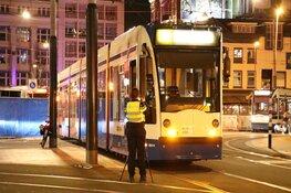 Fietser in aanrijding met tram bij Leidseplein
