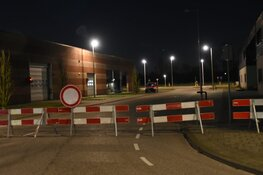 Gaslek in bedrijfspand Westpoort