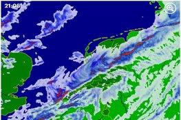 Daar komt nóg meer noodweer: komend uur hoosbuien, hagel en onweer