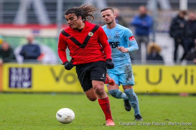 AFC in doelpuntrijk duel langs Rijnsburgse Boys