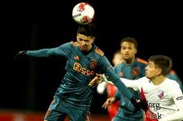 Jong Ajax krijgt pak slaag in Utrecht