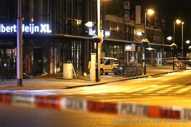 Veel schade bij poging plofkraak Osdorpplein, gestolen auto blijft achter