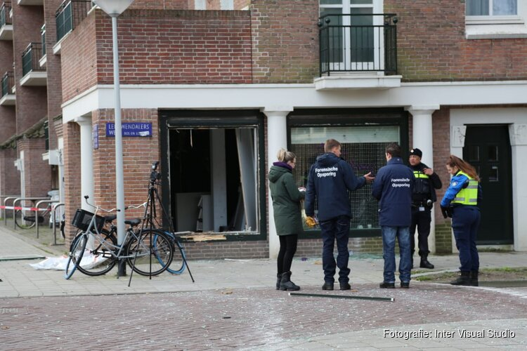 Gevel uit salon in Amsterdam geknald