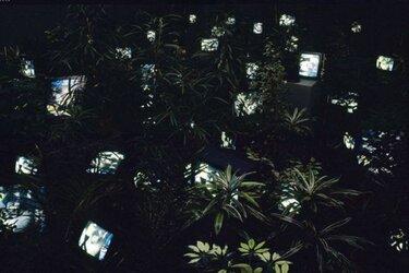 Nam June Paik op 12 maart in Het Stedelijk Museum