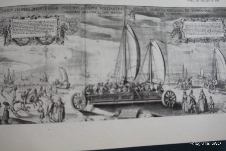 Sinds jaar 1602 al 'wagenevents' op het strand!