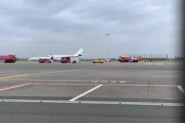 Zakenvliegtuig keert terug naar Schiphol en maakt noodlanding vanwege technisch mankement