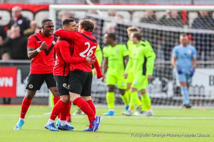 Spanning in Tweede Divisie volledig terug: AFC klimt weer richting top