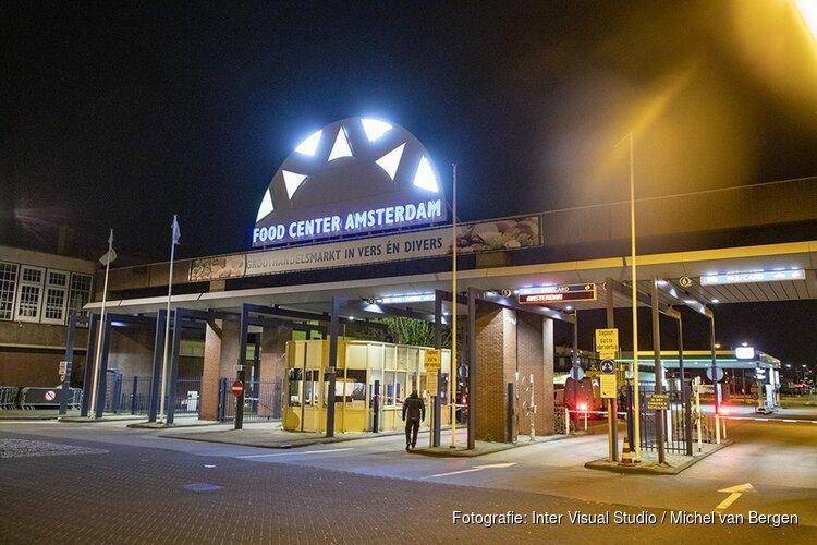 Plofkraak bij Food Center Amsterdam