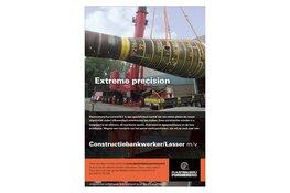 Vacature: Constructiebankwerker/lasser m/v