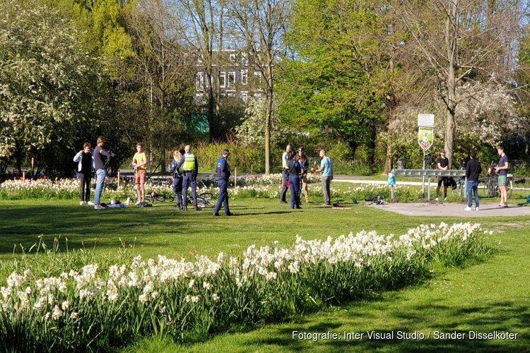 Veel boetes uitgedeeld in Amsterdamse Westerpark