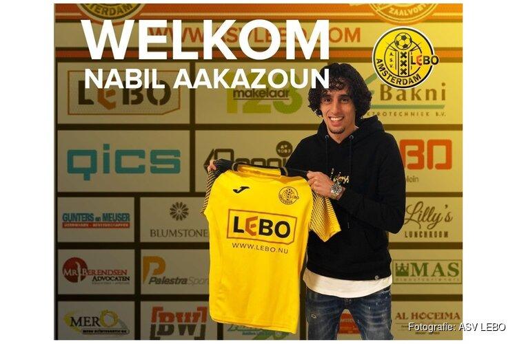 ASV Lebo versterkt zich met Nabil Akaazoun
