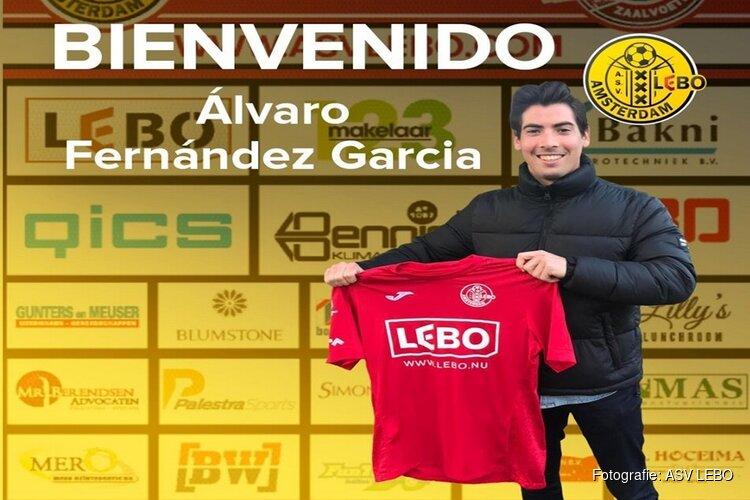 ASV LEBO haalt keeper Garcia van Futsal Apeldoorn