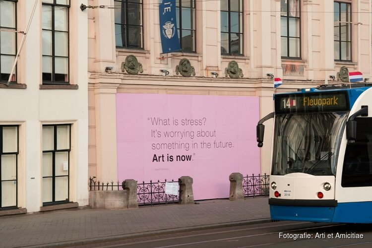 """Art is Now"" zegt kunstenaarsvereniging Arti et Amicitiae!"