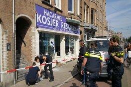 Verdachte op heterdaad aangehouden na vernieling ruit restaurant