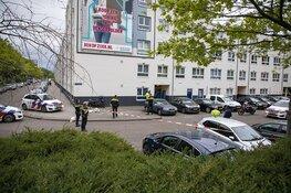 Schot gelost in portiek Dalsteindreef Amsterdam, dader gevlucht