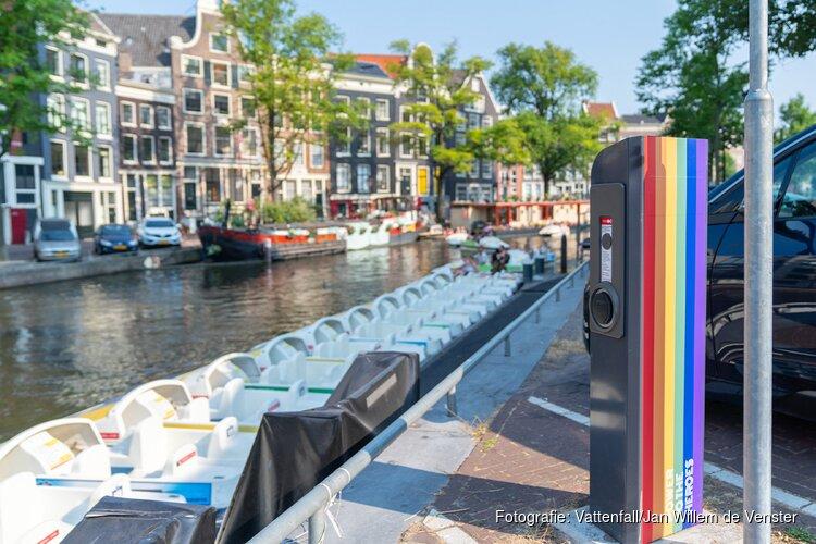 Veel oplaadmogelijkheden voor Amsterdammers met elektrische auto