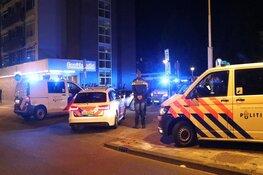 Auto klemgereden door politie in Osdorp