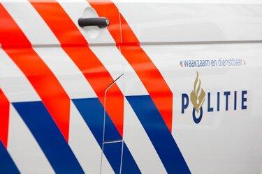 Twee mannen aangehouden voor vernielen van deur politiebureau