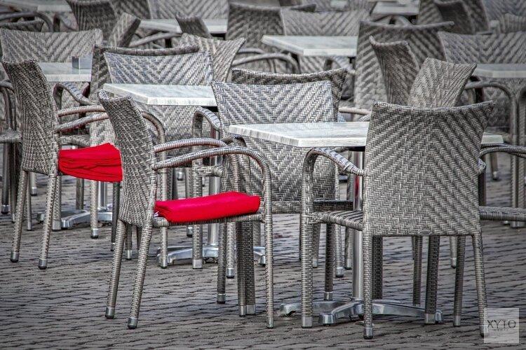 Extra ruimte voor terrassen in Amsterdam