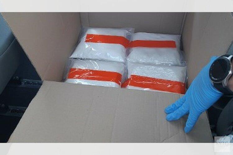 Politie treft 33 kilo ketamine en 15.000 euro aan bij verkeerscontrole