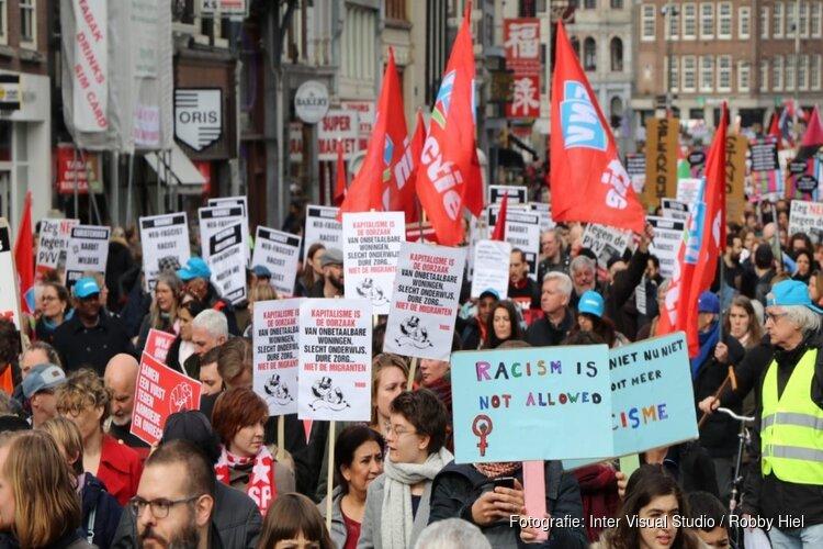 Vandaag demonstratie tegen anti-zwart politiegeweld in Amsterdam