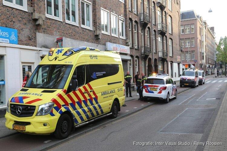 Politie valt woning Jan van Galenstraat binnen