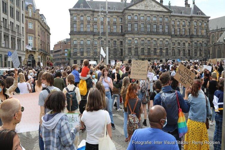 Halsema verwachtte paar honderd mensen bij racisme-protest, geen 5000