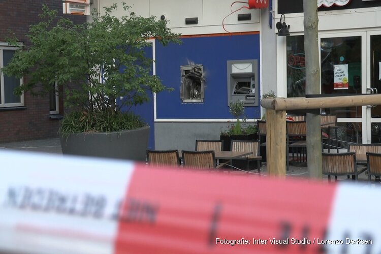 Plofkraak op Rabobank-geldautomaat in Amsterdam